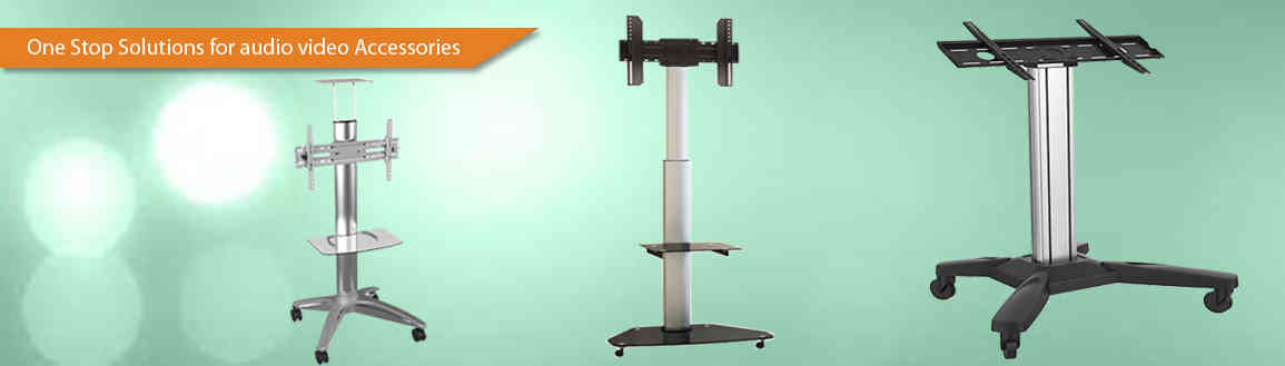 <p class='sss'>Display Floor stand Trolley</p>20 yrs of experience in Audio Visual Industry